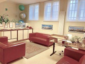 centro ortopedico osteopatico - sala d'attesa